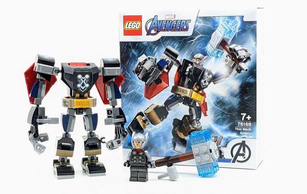 Thor Mech Armor LEGO 76169/L76169 樂高積木,Thor Mech Armor LEGO