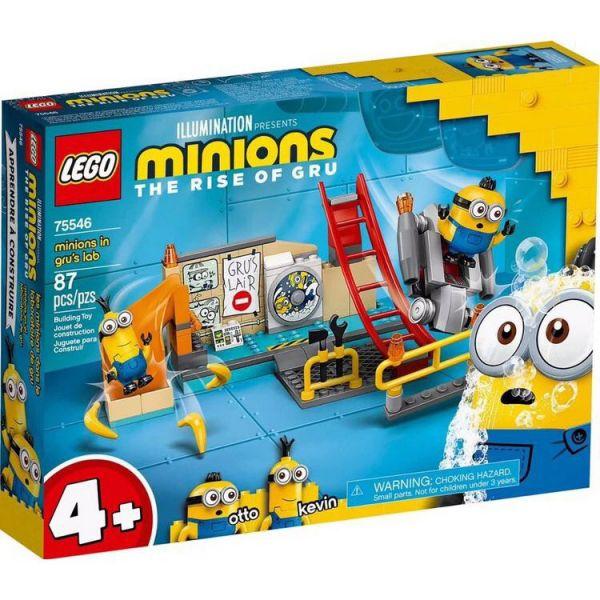 Minions-格魯的實驗室/L75546 樂高積木,Minions-格魯的實驗室,LEGO75546