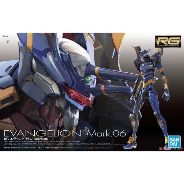 RG 通用人型決戰兵器 人造人EVA Mark.06/B5061666 萬代鋼彈組裝模型 RG,通用人型決戰兵器,人造人EVA Mark.06,  萬代鋼彈組裝模型,鋼彈模型