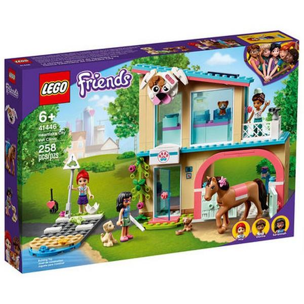 Friends-心湖城獸醫診所/LEGO 41446 樂高積木 Friends,心湖城,獸醫診所,LEGO 41446,樂高積木