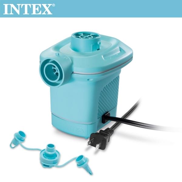 INTEX 110V電動充氣幫浦-水藍色(58639)/15210050 INTEX,110V,電動,充氣幫浦,水藍色