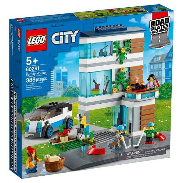 城市住家 LEGO 60291/L60291 樂高積木,城市住家 LEGO