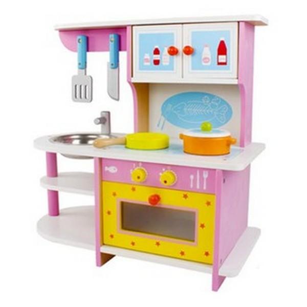 木質粉紅廚房/MSN15024 廚具,原木