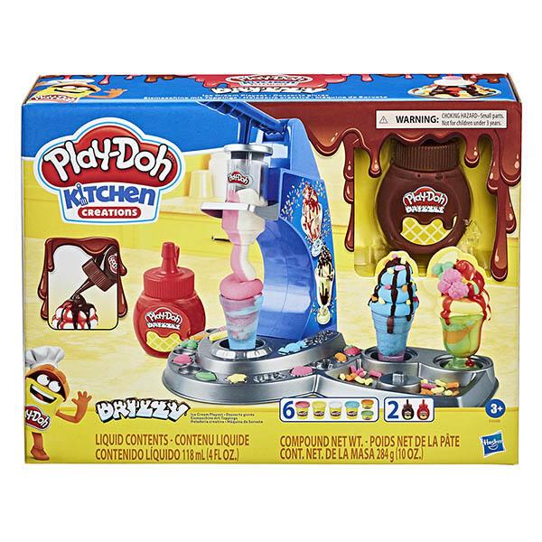 培樂多廚房系列 雙醬冰淇淋遊戲組/HE6688 黏土、動力沙,培樂多廚房系列 雙醬冰淇淋遊戲組