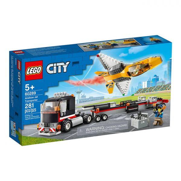 空中特技噴射機運輸車 LEGO 60289/L60289 樂高積木,空中特技噴射機運輸車 LEGO