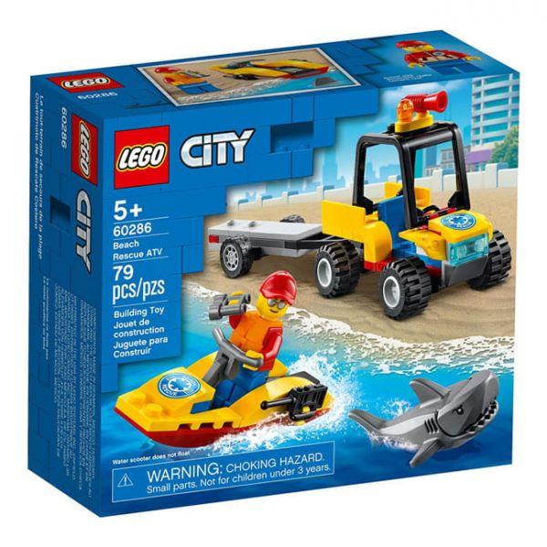 海灘救援 ATV LEGO 60286/L60286 樂高積木,海灘救援 ATV LEGO