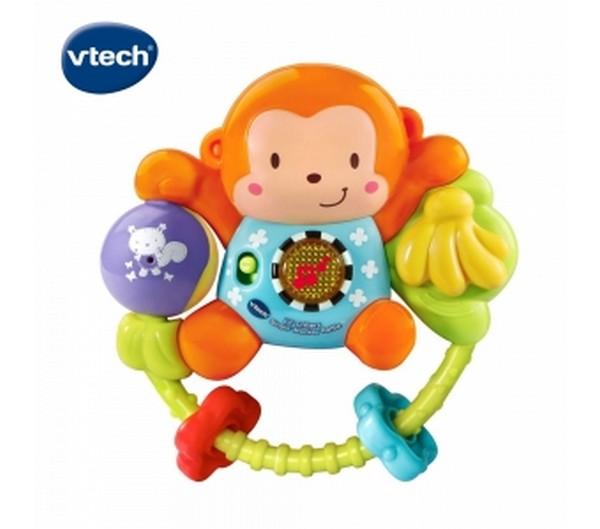 音樂搖擺聲光小猴/508303/英國Vtech Vtech,幼教,發展玩具,早教