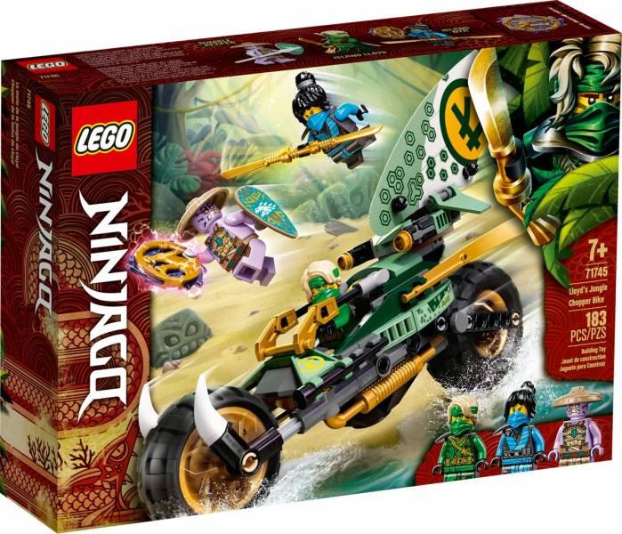 Ninjago-勞埃德的叢林摩托車/L71745 樂高積木 Ninjago,勞埃德的叢林摩托車,LEGO 71745 ,樂高積木