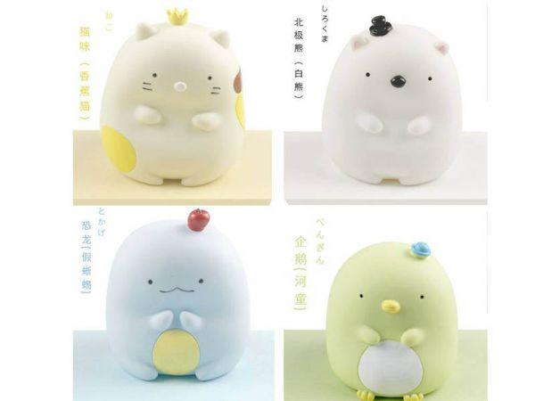 日本角落生物存錢罐4款/角落生物 限時特賣