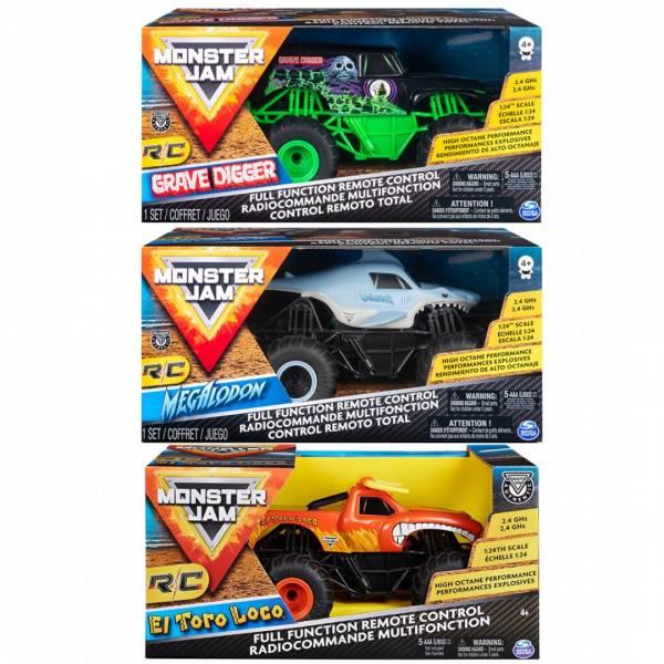 怪獸卡車-1:24無線遙控車(共3款)/6047112 怪獸卡車-1:24無線遙控車(共3款)/6047112