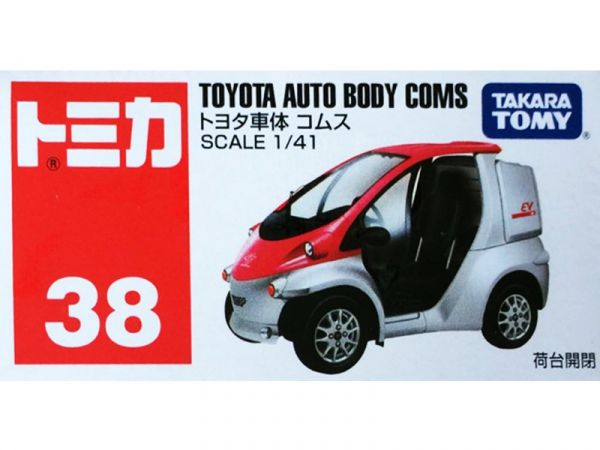 豐田 AUTO BODY COMS/TOMICA 038-1多美 火柴盒小汽車 豐田 AUTO BODY COMS.TOMICA.TM038,多美,火柴盒小汽車,4904810824473