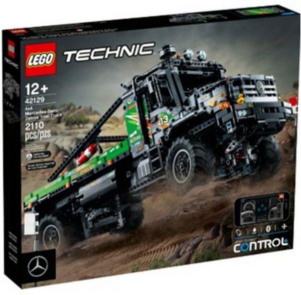 Tech-4x4賓士Zetros卡車- 樂高積木/L42129 Tech-4x4賓士Zetros卡車,樂高積木,LEGO42129