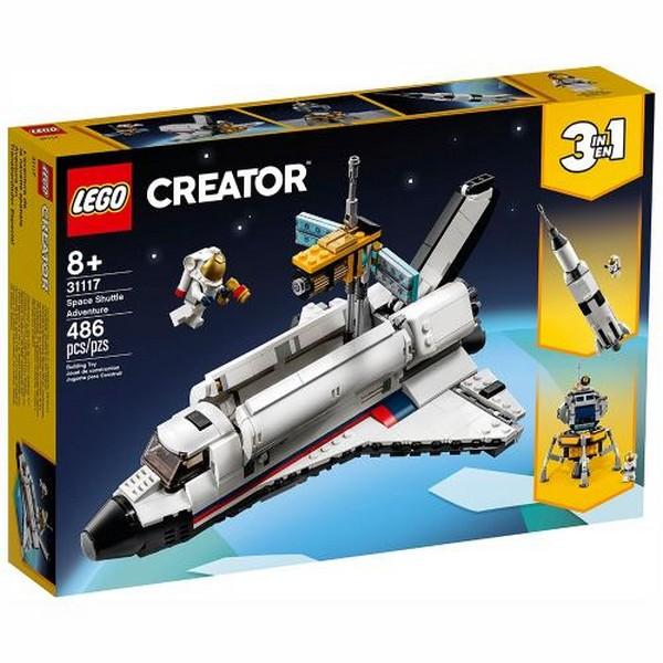 Creator-太空梭歷險/L31117 樂高積木 Creator,太空梭歷險,L31117,樂高積木