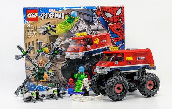 Spider-Man's Monster Truck vs. Mysterio LEGO 76174/L76174 樂高積木,Spider-Man's Monster Truck vs. Mysterio LEGO 76174