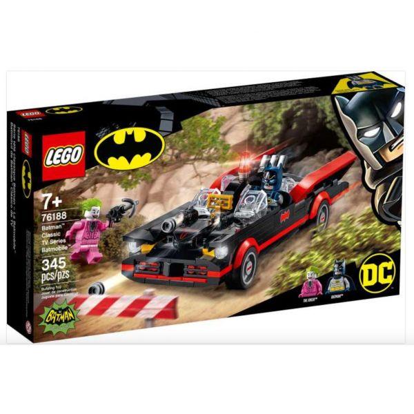 DC-經典電視影集蝙蝠車/L76188 樂高積木,DC-經典電視影集蝙蝠車,LEGO76188