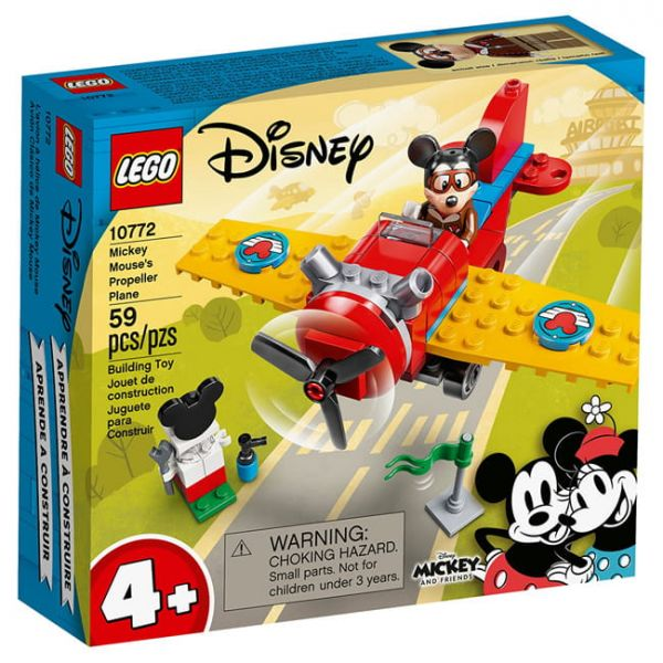 Disney-米奇螺旋槳飛機/L10772 樂高積木 Disney,米奇,螺旋槳,飛機,L10772,樂高積木