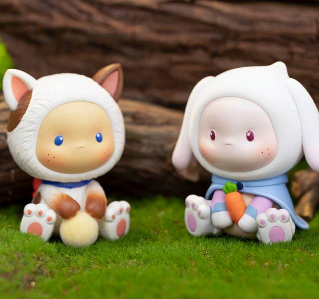 ToyCity × TUDODORI 土豆多勵 Sitting Baby 坐坐動物系列 ToyCity,玩具城市,TUDODORI,土豆多勵,Sitting Baby,坐坐動物