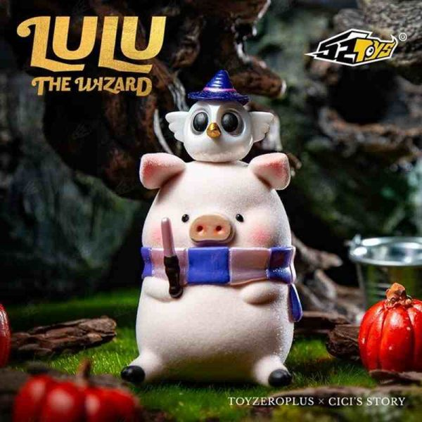 CICI's Story×Toyzeroplus 罐頭LULU豬 魔法師系列 52Toys,CICI's Story,Toyzeroplus,午餐肉,罐頭豬,LULU豬,魔法師