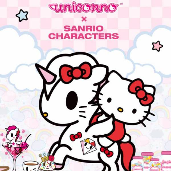 Sanrio × Tokidoki 獨角獸與Hello Kitty的好朋友們 Sanrio,Tokidoki,獨角獸,Hello Kitty,三麗鷗,庫洛米,布丁狗,雙星仙子