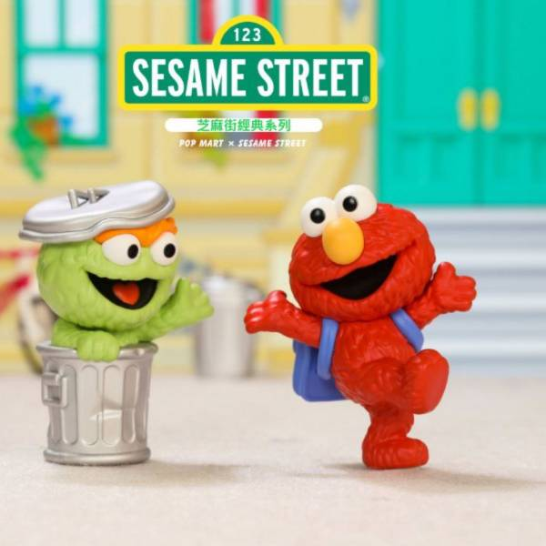 Sesame Street × POP MART 芝麻街經典系列 Basic Series Sesame Street,POP MART,芝麻街,Basic,ELMO