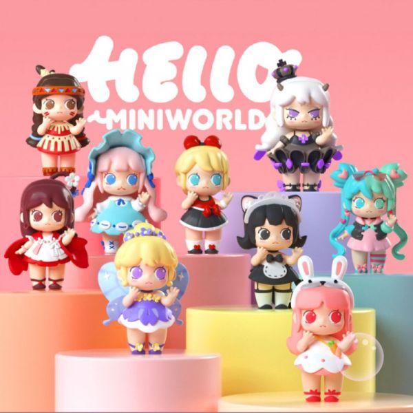 Miniwan 迷你世界少女團 Mini World  騰訊,網易,當個創世神,Miniwan,迷你世界,少女,Mini World