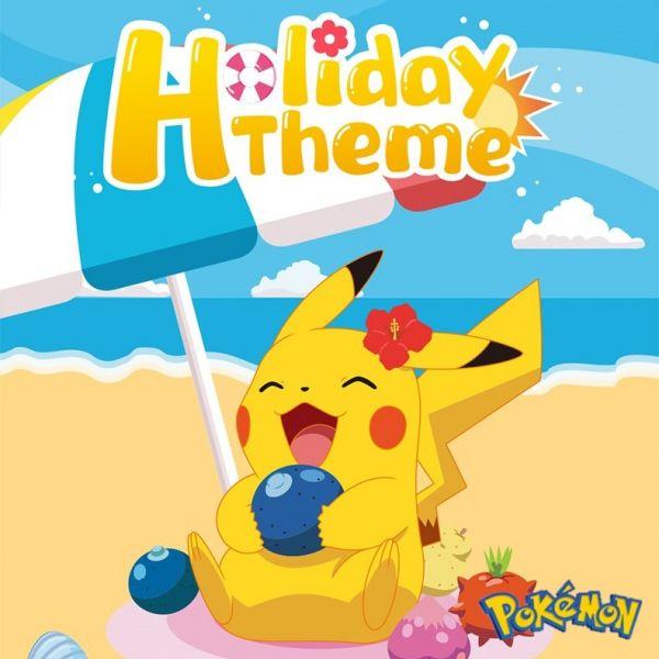 52TOYS × Pokémon寶可夢 休閒假日系列 POKEMON,皮卡丘,小火龍,52TOYS,Pokémon,寶可夢,休閒假日,HOLIDAY THEME