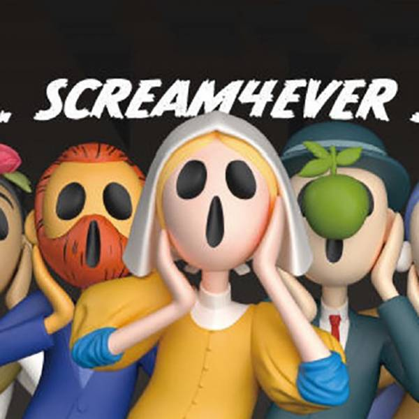 RedCapsule × BLUEPIPER 無聲吶喊 Scream 4ever 世界名畫系列 第四彈 紅膠囊,藍菸斗,RedCapsule,BLUEPIPER,無聲吶喊,Scream4ever,世界名畫,孟克,吶喊