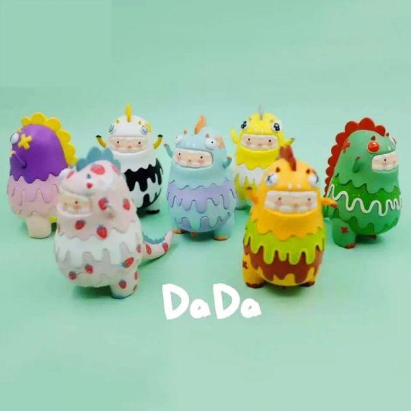 林川一目 x DaDa 甜品台系列 盲盒 林川一目,DaDa,甜品台