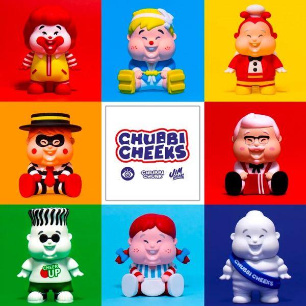 Unbox industries × CHUBBI CHEEKS 肥仔BB 盲盒 by Jim Dreams Unbox industries,CHUBBI CHEEKS,肥仔BB,Jim Dreams