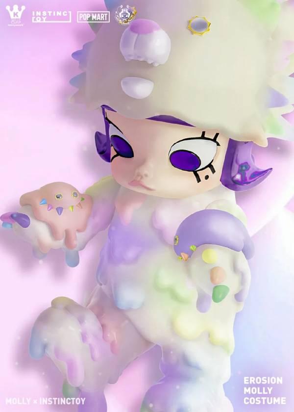 POPMART 泡泡瑪特 MOLLY 大久保 INSTINCTOY 娃娃裝侵蝕系列 POPMART,泡泡瑪特,MOLLY,大久保,INSTINCTOY,娃娃裝侵蝕系列