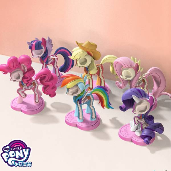 Freeny's Hidden Dissectible × Mighty Jaxx半解剖彩虹小馬 My Little Pony Jason Freenys,Mighty Jaxx,半解剖,彩虹小馬,Pony