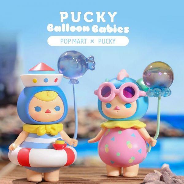 POPMART泡泡瑪特 PUCKY畢奇 氣球寶寶系列 Balloon Babies POP MAR,泡泡瑪特,PUCKY,畢奇,氣球寶寶,Balloon Babies,MOLLY,DIMOO,LABUBU