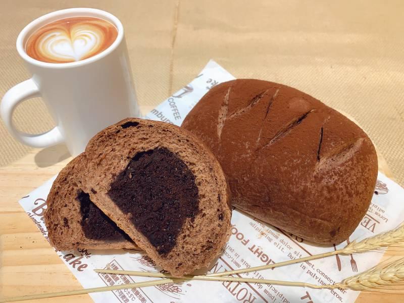 巧克力旦糕麵包