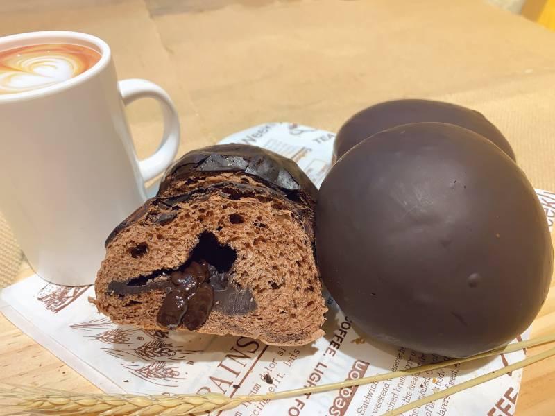 巧克力餐包