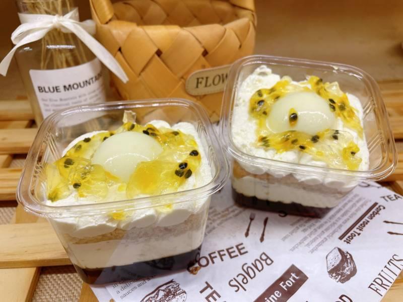 百香果布丁旦糕盒(個人盒)  百香果布丁旦糕盒(個人盒) 全素無奶無蛋無五辛無蜂蜜