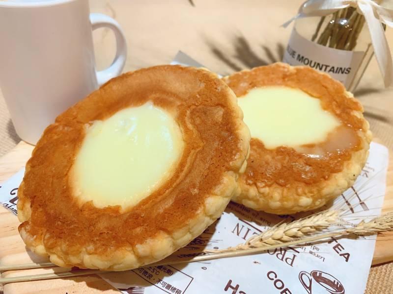 布丁波羅麵包