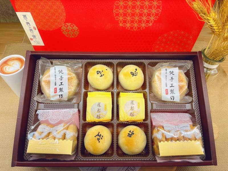 金玉滿堂 年節禮盒,全素