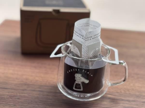 WHOSMiNG x GOODGLAS -COFFEE FLAIR 雙層玻璃杯300ml