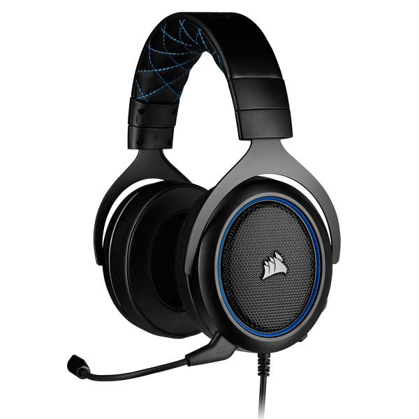 海盜船 CORSAIR HS50 PRO STEREO 藍 / PC XONE Switch PS4 賽德斯,海盜船,CORSAIR,無線耳機,HS50 PRO STEREO,藍,PC,電競,雷蛇,公司貨