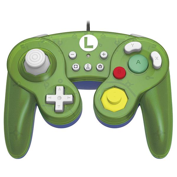 NS 復古 GameCube 有線手把  // NGC // 路易吉 綠色  // Nintendo Switch NS,任天堂,GameCube,NGC,Switch,復古,手把,HORI,PC,路易吉