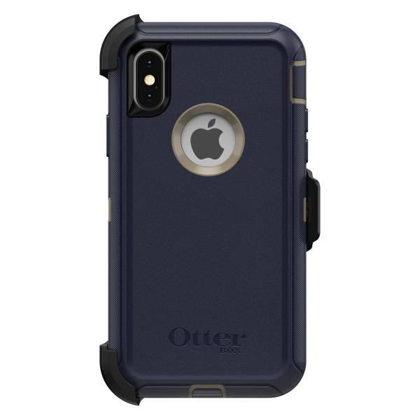 【年終出清 全新品】iPhone X / Xs OtterBox Defender 防禦者系列 保護殼 【深藍色】 螢幕通空設計版 IPhone,手機殼,保護殼,軍規,防摔,OtterBox,X,XS,11,11PRO