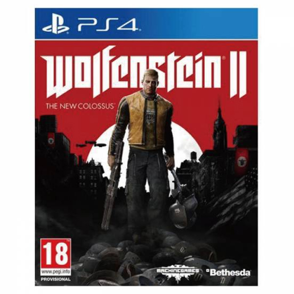 PS4 德軍總部 2 新巨像*中文版*Wolfenstein II The New Colossus PS4,德軍總部 2,新巨像,中文版,Wolfenstein II,The New Colossus