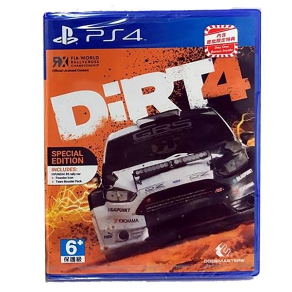 PS4 大地長征4*英文版*DiRT4 PS4,大地長征,英文版,DiRT4,DiRT,大地長征4