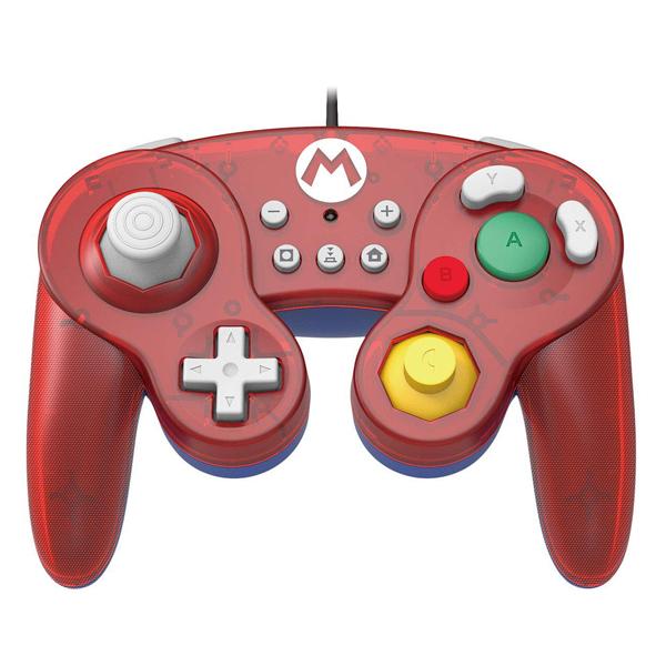 NS 復古 GameCube 有線手把 // NGC // 瑪莉歐 紅色 // Nintendo Switch NS,Nintendo Switch,Switch,復古,手把,HORI,PC,瑪莉歐,紅色