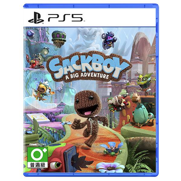 PS5 小小大冒險 / 中文版 PS5,PS4,小小大冒險,小小大星球,毛線,多人,連線,中文,動作過關,首發遊戲