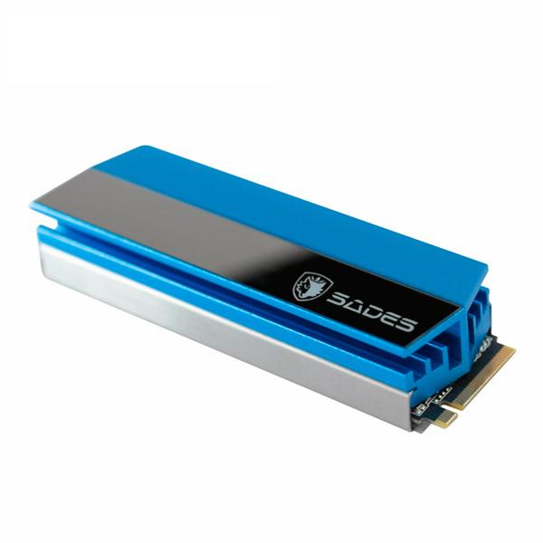 賽德斯 SADES M.2 SSD硬碟專用全鋁散熱器 賽德斯,SADES,全鋁散熱器,M.2,硬碟,SSD,電競,固態硬碟