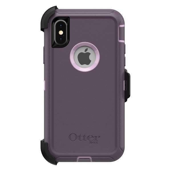 【年終出清 全新品】iPhone X / Xs OtterBox Defender 防禦者系列 保護殼 【葡萄紫】 螢幕通空設計版 IPhone,手機殼,保護殼,軍規,防摔,OtterBox,X,XS,11,11PRO