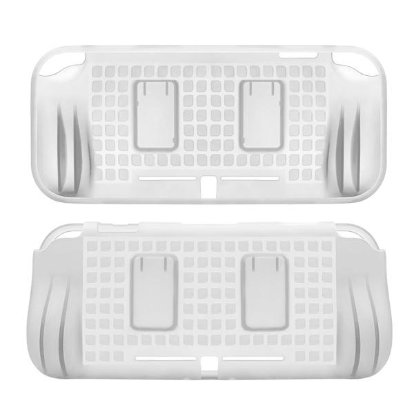 NS Switch Lite 保護殼 【透白】 TPU 清水殼  Nintendo,switch,hori,joy-con,十字鍵,瑪利歐,手把,lite,一體成形,TPU