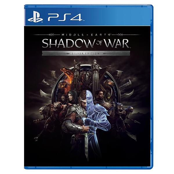 PS4 中土世界 戰爭之影 *白銀 中文版* PS4,中土世界,戰爭之影,中文版,Middle-Earth,Shadow of War