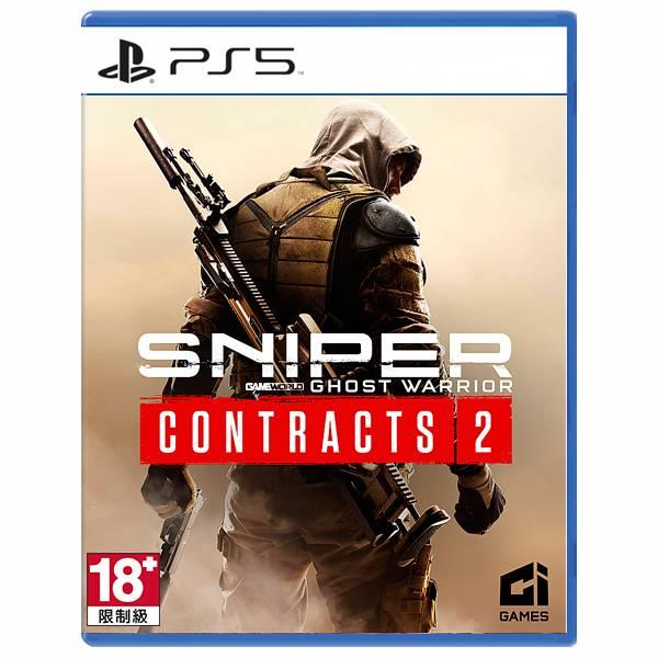 PS5 狙擊之王:幽靈戰士 契約 2 / 中英文版 PS5,XBOX,PS4,狙擊之王,幽靈戰士,契約 2,狙擊之神,射擊,中文